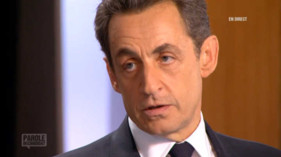 Revoir Nicolas Sarkozy dans Parole de candidat