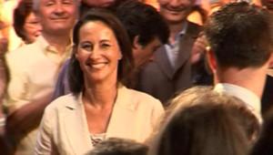 Ségolène Royal lors de la soirée d'officialisation de sa candidature à la tête du PS (16 mai 2008)