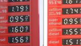 Dans les stations essence, les prix ont baissé en moyenne de 5 centimes