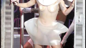 Lady Gaga en concert à Paris Bercy