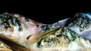 nasa mars eau planète