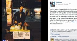 Un réfugié syrien distribue des repas aux sans-abris berlinois/Capture d'écran Facebook