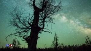 Une pluie d'étoiles filantes s'abat sur la Chine