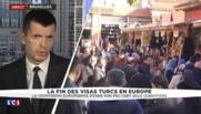 """Exemption de visas pour la Turquie dans l'UE : """"Une propostion qui doit être validée"""""""