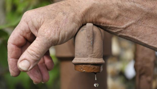 Illustration. Une pompe à eau en avril 2011 à Jumeaux dans le centre de la France