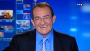 Jean-Pierre Pernaut, directeur adjoint de l'information de TF1, rédacteur en chef et présentateur du Journal de 13h.