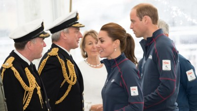 Kate Middleton et le prince William en juillet 2015
