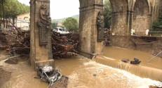 Le 13 heures du 18 septembre 2014 : Intemp�es : le choc �amalou-les-Bains - 1092.183