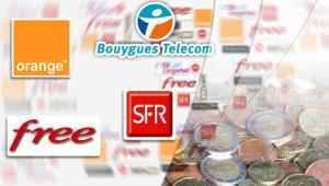 Orange, SFR, Bouygues Telecom et Free : les quatre grands FAI français