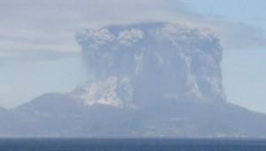 Un volcan s'est réveillé au Japon.