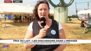 """Crise du lait : le mouvement """"va se durcir"""", annonce la présidente FDSEA de l'Orne"""