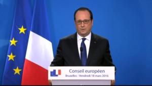 """Hollande : """"L'opération en cours est en lien avec les attentats du 13 novembre"""""""