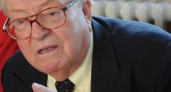 Jean-Marie Le Pen en janvier 2012 à Agen