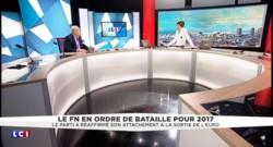 """Jean-Marie Le Pen : """"Nous sommes hostiles à l'Europe de Bruxelles"""""""