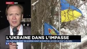 """L'Ukraine dans l'impasse, des questions encore """"en suspend"""""""