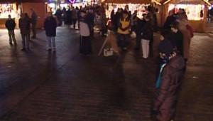 Le cercle de silence à Toulouse, le 25 décembre 2007