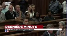 Oscar Pistorius reste impassible à l'énoncé du verdict