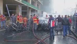 Un attentat à la voiture piégée à Beyrouth a 5 morts selon un premier bilan.