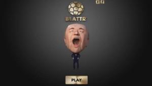 Un jeu en ligne permet de nourrir Sepp Blatter avec de l'or.