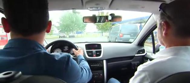 Conduite accompagnée voiture permis