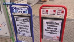 Angoulême bancs