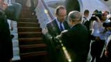 François Hollande en Algérie pour parler de lutte contre le terrorisme et d'économie