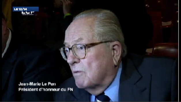 La nouvelle provocation de Jean-Marie Le Pen : les images