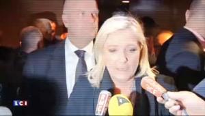 """Marine Le Pen devant la justice : """"Ils ne me feront pas taire"""""""