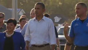 Obama au chevet des sinistrés en Louisiane : les images
