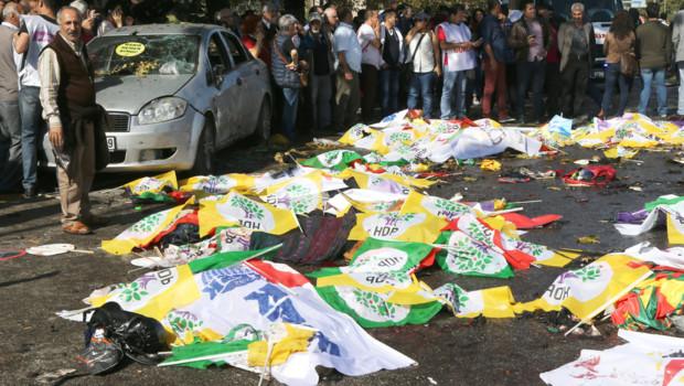 Turquie : attentat à Ankara, 10/10/2015
