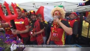 Euro 2016 : à Lyon, le match se tiendra en toute sobriété… ou presque