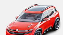 Image fuitée du Citroën Aircross.