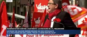 Jean-Luc Mlenchon  la Bastille : extrait de son discours