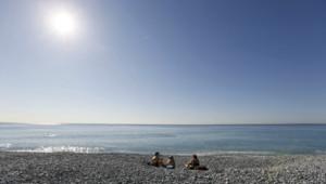 Le soleil au rendez-vous à Nice.