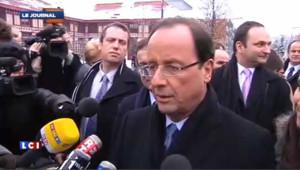 "Sarkozy candidat : ""ça ne change rien"", ""on savait déjà"" dit Hollande"