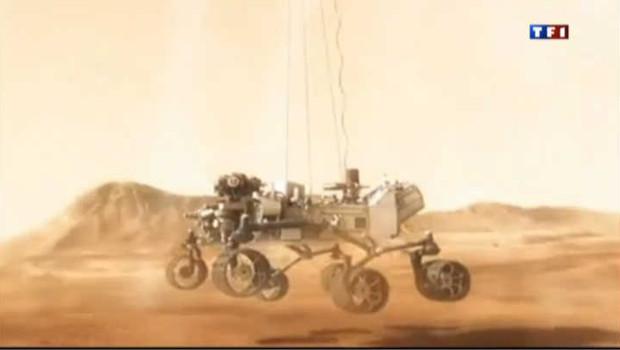 Curiosity atterrit sur Mars ce lundi