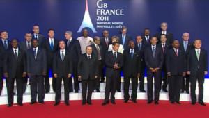 Le sommet du G8 à Deauville, le 27 mai 2011.