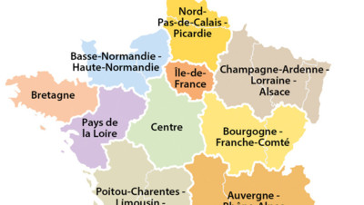 L'Assemblée adopte la réforme territoriale : voici la carte des 13 régions