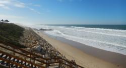 La plage de Lacanau, samedi 18 octobre 2014