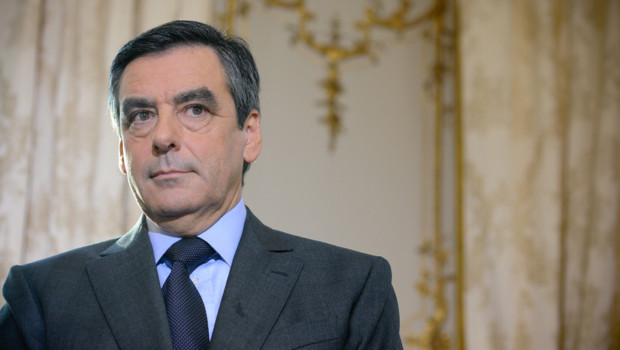 Fran&ccedil;ois Fillon en janvier 2012/Image d'archives