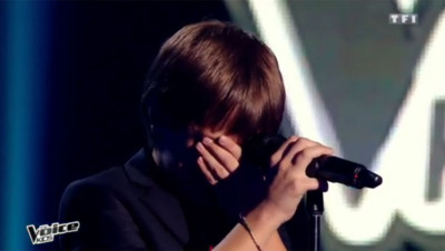 Le jeune Léo, talent de The Voice Kids, craque après sa prestation