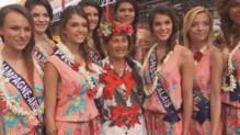 Les Miss font leur marché à Papeete.