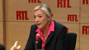 Marine Le Pen minimise la victoire des candidats UMP