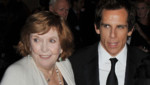 Anne Meara et Ben Stiller en 2008 à New York