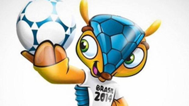 C'est un tatou qui a été choisi pour être la mascotte du prochain mondial de football en 2014 au Brésil.