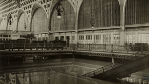 Gare d'Orsay, 1910, crue Paris
