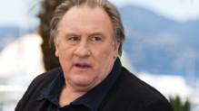 Gérard Depardieu lors du photo-call à Cannes le 22 mai 2015