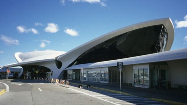L'aéroport JFK à New-York