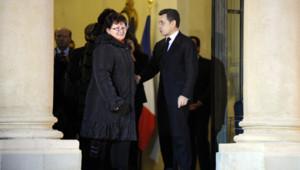 Une délégation de salariées du site Lejaby d'Yssingeaux a été reçue par Nicolas Sarkozy à l'Elysée le 3 février 2012