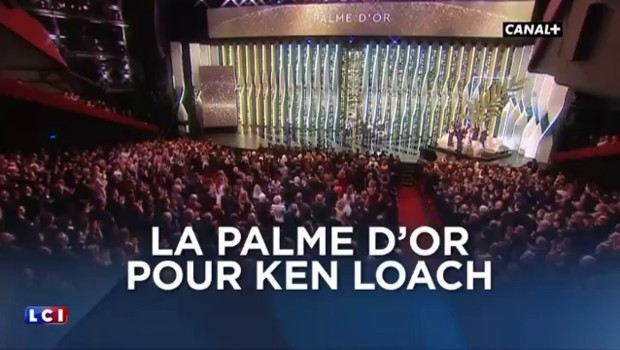 Cannes 2016 : la Palme d'Or pour Ken Loach, le Grand Prix pour Xavier Dolan